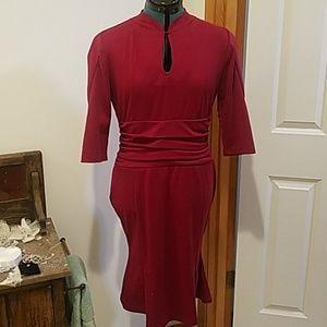 Vintage 1940s style dress